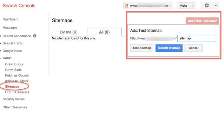 cara pasang sitemap webmaster